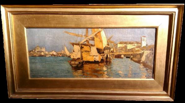 Barche in Canal della Giudecca