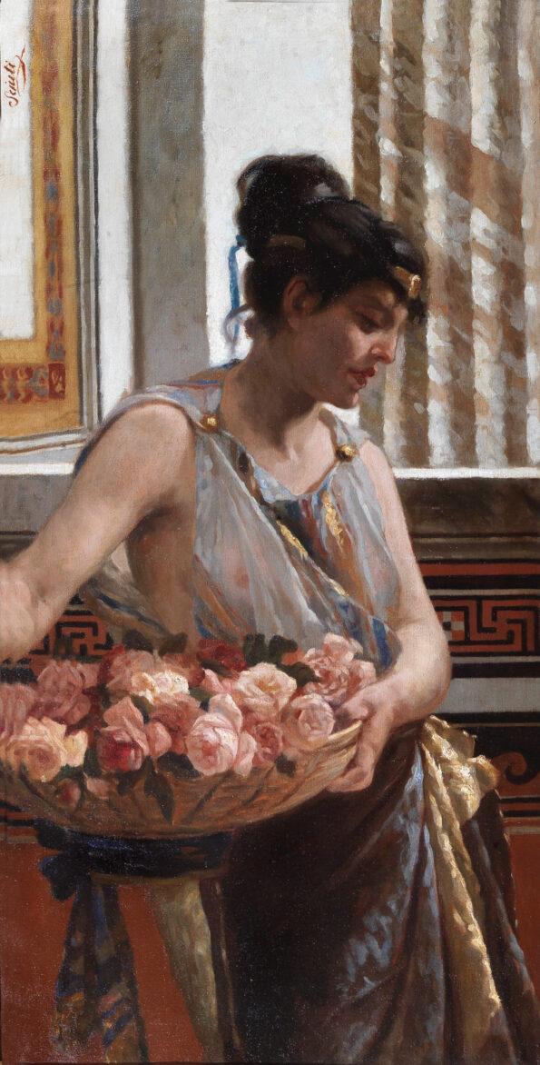La fioraia greca