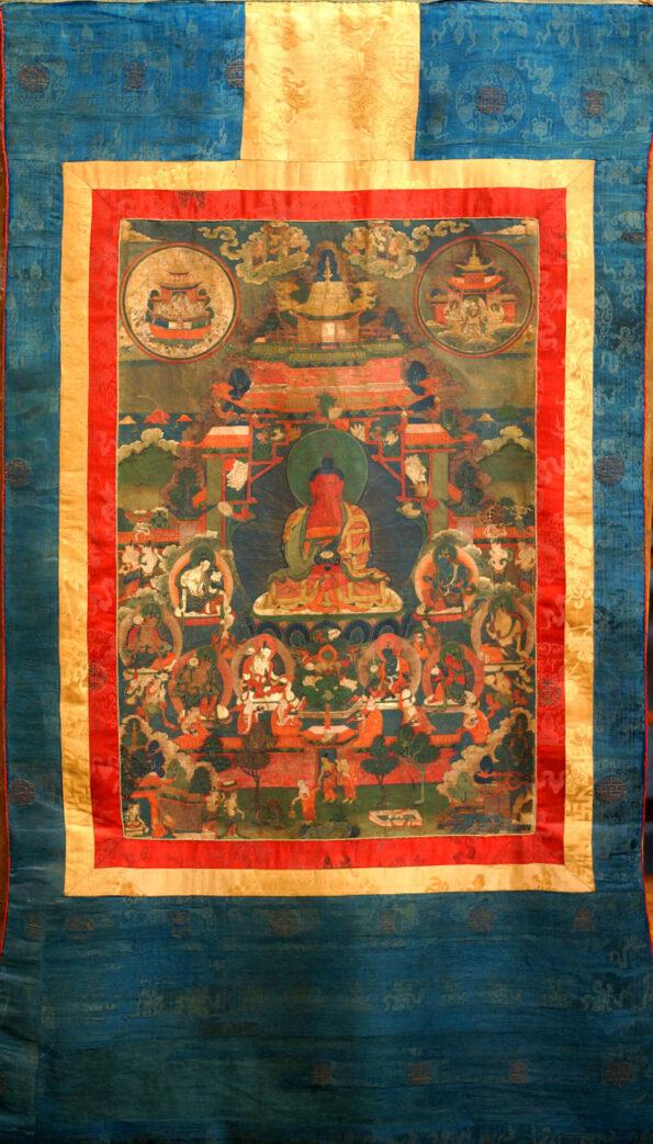 Thangka Tibetano del XVII secolo